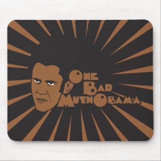 One bad muthaboama mouse pad
