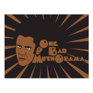 One bad muthaboama postcard
