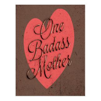 One Badass Mother Postcard