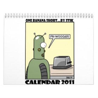 One Banana Short Calendar 2011