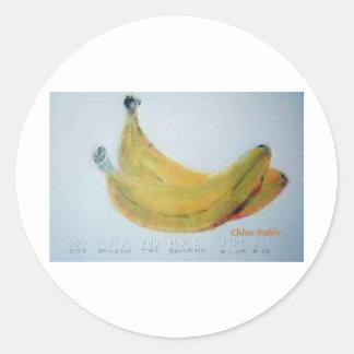 One Banana Two Banana Stickers