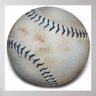 One Baseball Poster