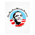 One Big Ass Mistake America Full Color Flyer