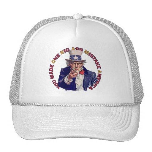 One Big Ass Mistake America Hat