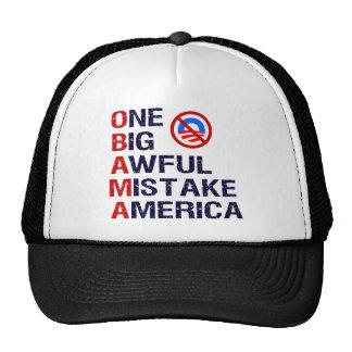 One Big Awful Mistake America Trucker Hat