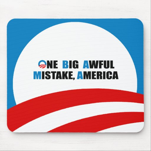 ONE BIG AWFUL MISTAKE, AMERICA MOUSE PAD