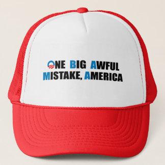 ONE BIG AWFUL MISTAKE, AMERICA TRUCKER HAT