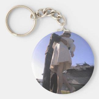One Big Kiss San Diego Keychain