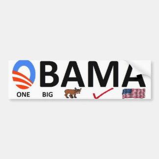 one big mistake bumper sticker