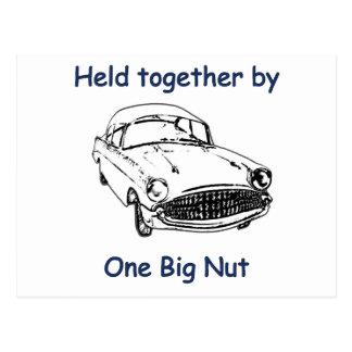 One Big Nut Postcard