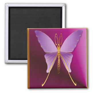 One Big Purple Butterfly Magnets