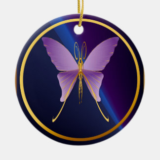 One Big Purple Butterfly  Ornaments