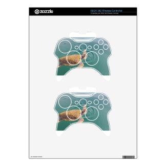 One big swimming sea turtle Caretta Xbox 360 Controller Skins