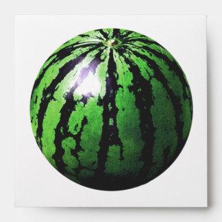 one big watermelon envelope