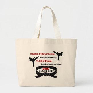 ONE Black Belt 1 KARATE T-SHIRTS & APPAREL Jumbo Tote Bag