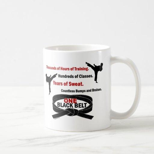 ONE Black Belt 1 KARATE T-SHIRTS & APPAREL Mug