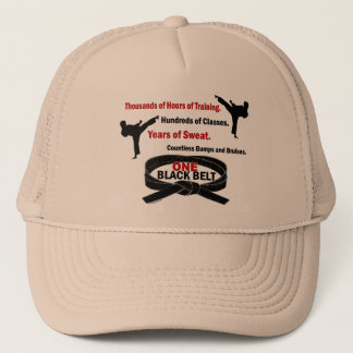 ONE Black Belt 1 KARATE T-SHIRTS & APPAREL Trucker Hat