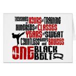 ONE Black Belt 2 KARATE T-SHIRTS & APPAREL Card