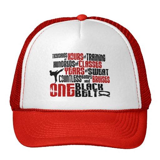 ONE Black Belt 2 KARATE T-SHIRTS & APPAREL Mesh Hat