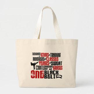 ONE Black Belt 2 KARATE T-SHIRTS & APPAREL Jumbo Tote Bag
