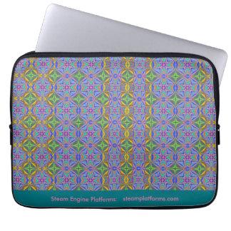 One Block Wonder Quilt Laptop Sleeve