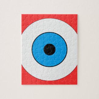 One Blue Eye Jigsaw Puzzle