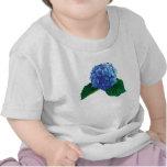 One Blue Hydrangea Tshirts