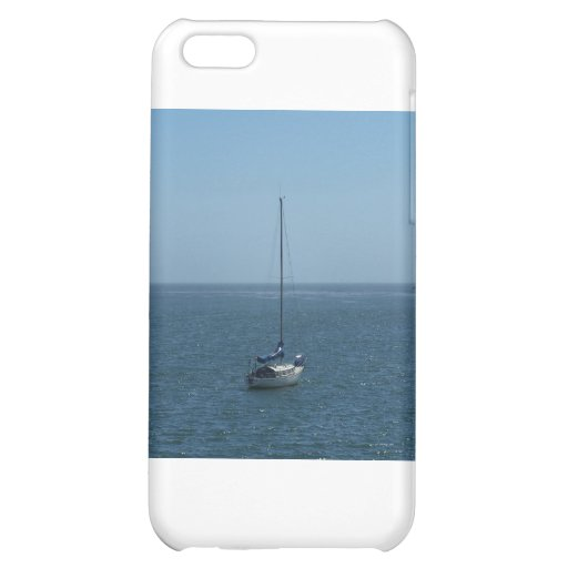 One Boat in a Pacific Bay iPhone 5C Case