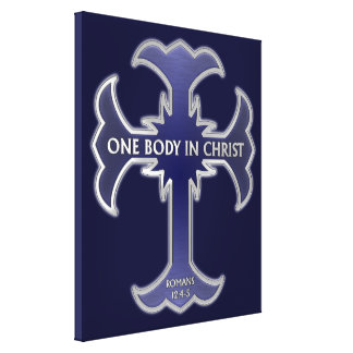 One Body In Christ Canvas Print
