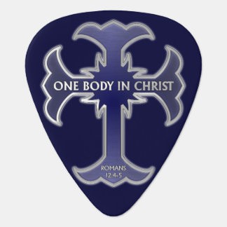 One Body In Christ Guitar Pick