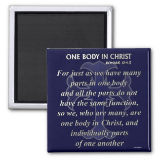 One Body In Christ Magnet