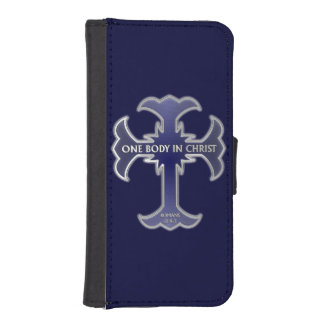 One Body In Christ iPhone 5 Wallet Cases