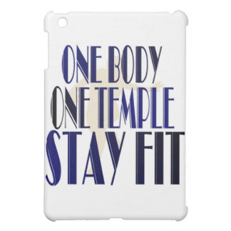 One Body One Temple iPad Mini Cases