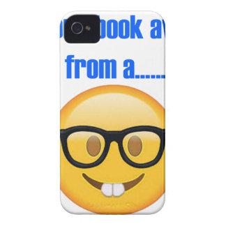 one book away from a.... Emoji iPhone 4 Case-Mate Case