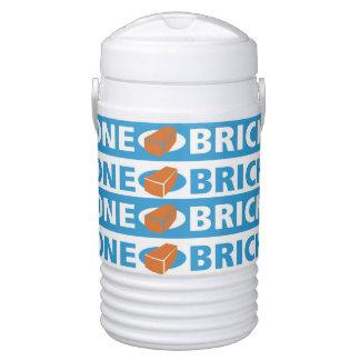 One Brick Igloo Cooler
