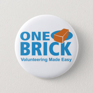 One Brick Logo Pin