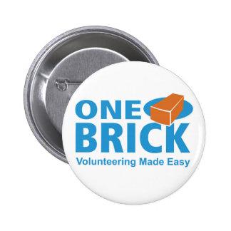 One Brick Logo Pin