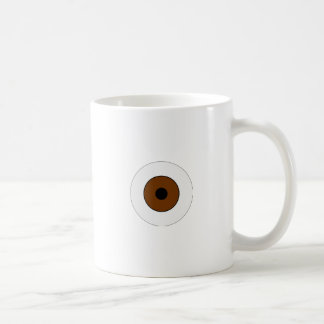 One Brown Eye Coffee Mug