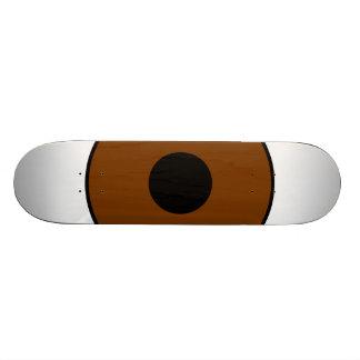 One Brown Eye Skateboard Deck