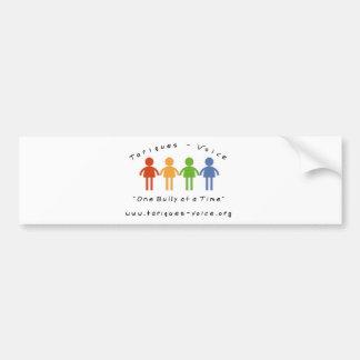 One Bully at a Time Support Bumper Sticker Car Bumper Sticker