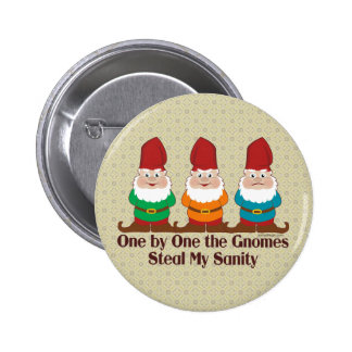 One By One The Gnomes 2 Inch Round Button