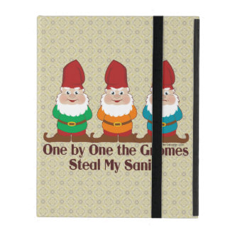 One by one the Gnomes steal my sanity iPad Cover