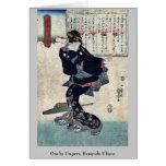 One by Utagawa, Kuniyoshi Ukiyoe Cards