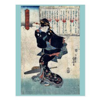 One by Utagawa, Kuniyoshi Ukiyoe Post Cards