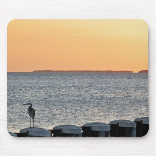 One Calm Evening Mouse Pad