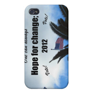 One can always hope for change 2012 iPhone 4/4S cases