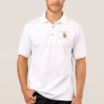 One can bring the horse to (French proverb) Polo Shirt