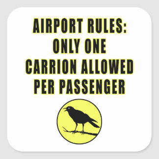 One Carrion Sticker