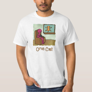 One Cat Loves Looking out the Window T-Shirt