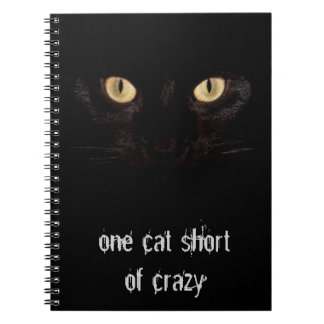 one cat short notebook